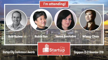 Startup City Conference & Awards Singapore 2018